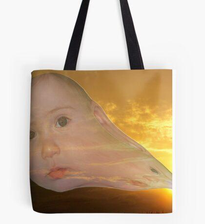The Evolution of Sun Children Tote Bag