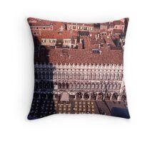 Piazza, San Marco Throw Pillow