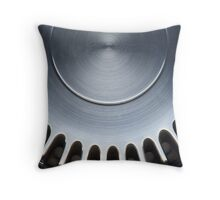 Genuine Steel Throw Pillow