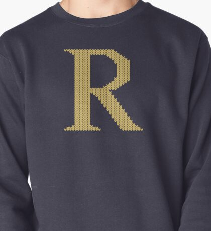 Weasley sweater - letter R Pullover