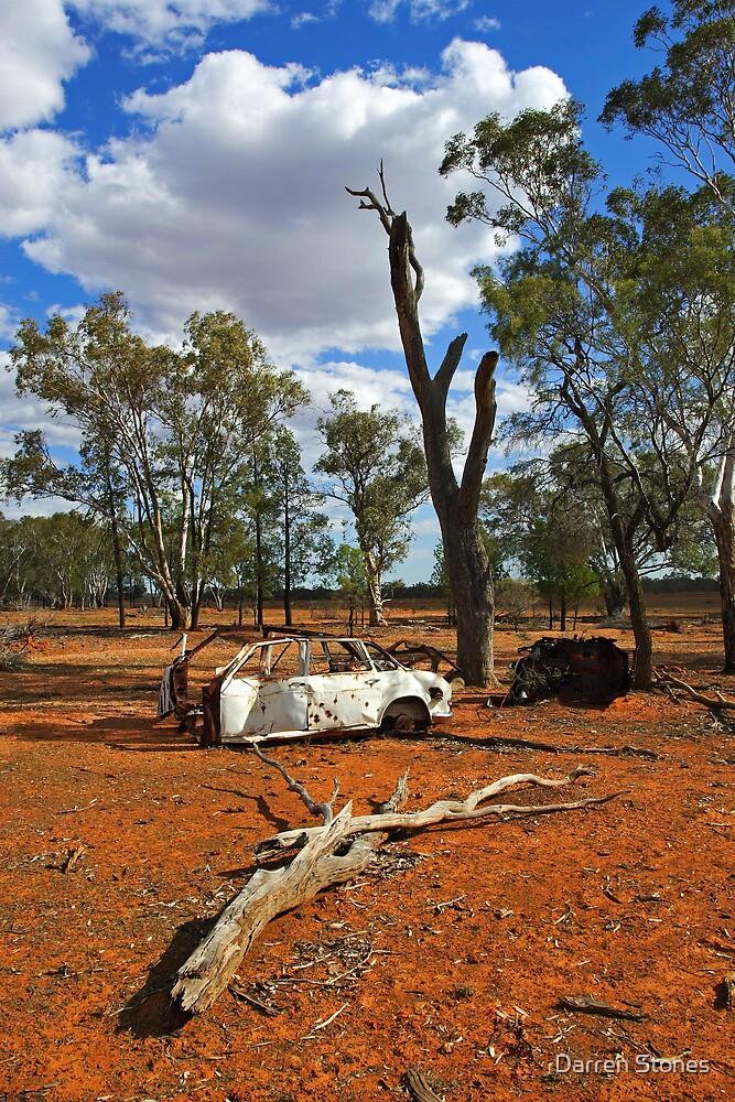 Australian outback near Cobar by Darren Stones