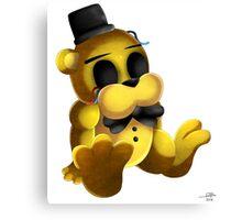 Chibi Golden Freddy 2 Canvas Print