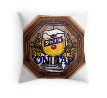 Sterling Portrait Throw Pillow