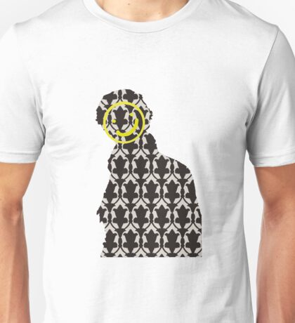 The Sherlock Wallpaper Face Unisex T-Shirt