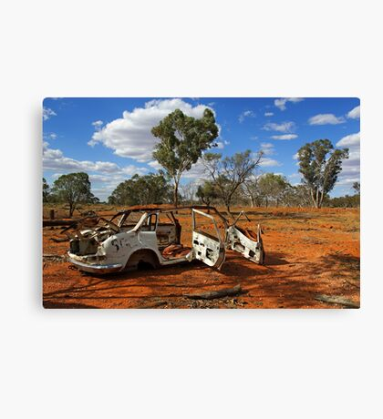 Australian outback near Cobar Canvas Print