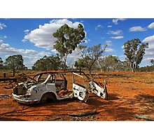 Australian outback near Cobar Photographic Print