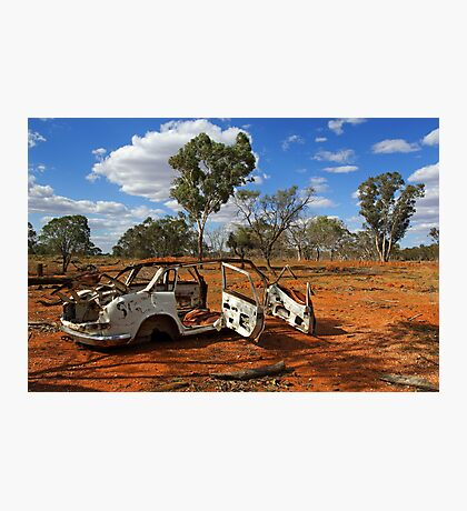 Australian outback near Cobar Photographic Print