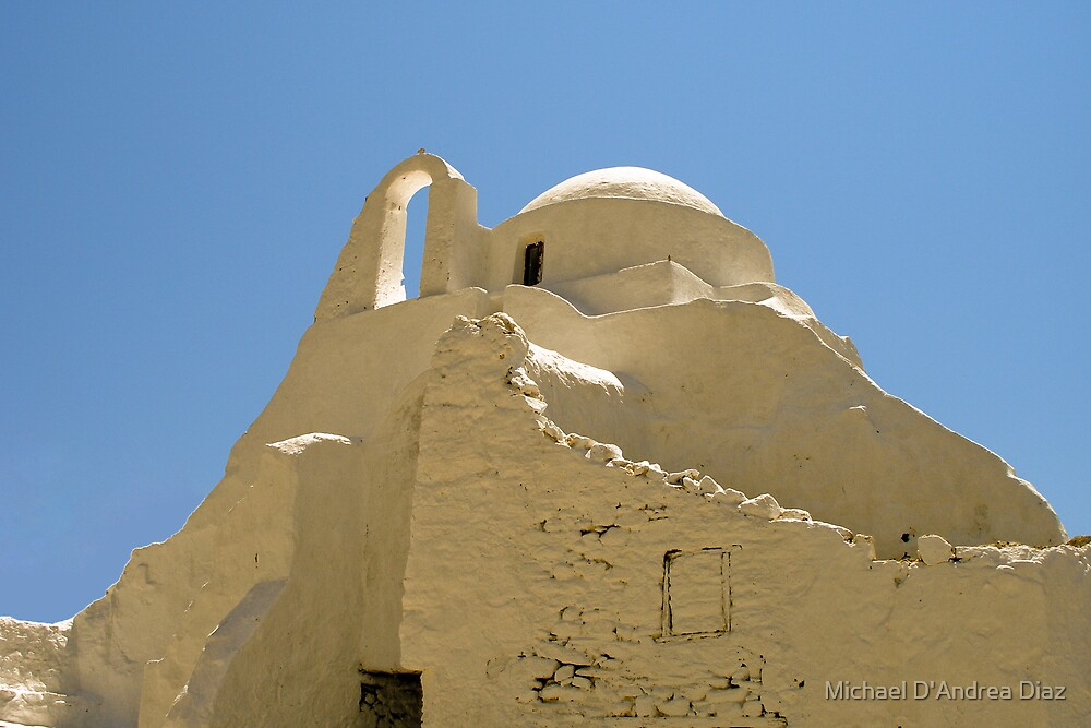 Church of Mykonos by Michael D'Andrea Diaz