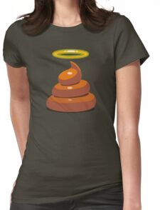 Holy Shit Womens Fitted T-Shirt