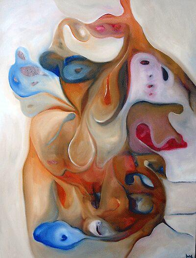 "ART by bec ""Female Emotion"" by ARTbybec"