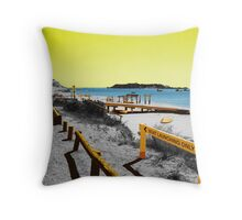 Hamelin Bay boat ramp Throw Pillow