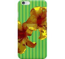 Orange Exotic Flower iPhone Case/Skin
