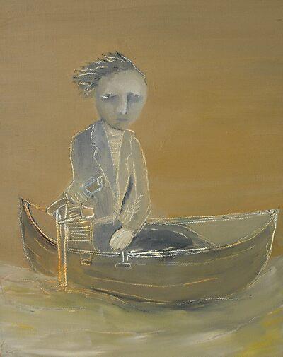 """ART by bec """"River Man"""" by ARTbybec"""
