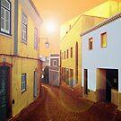 Village Street - Monchique by ArtbyCowboy