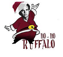 Ho-Ho-Ruffalo Photographic Print
