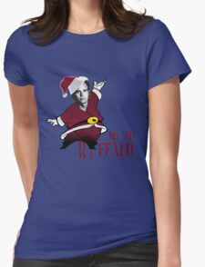 Ho-Ho-Ruffalo Womens Fitted T-Shirt