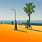 San Diego Beach by ArtbyCowboy