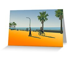 San Diego Beach Greeting Card
