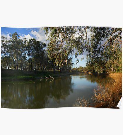 Darling River at Bourke Poster