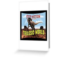 Triassic World Greeting Card