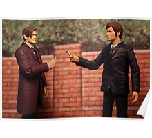 The Eleventh Doctor Meets The Tenth Doctor Poster