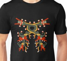 Aztec double double dragon Unisex T-Shirt