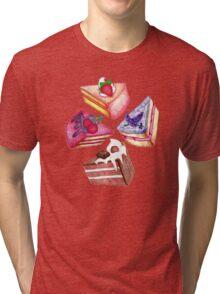 Let Them Eat Cake Tri-blend T-Shirt