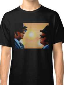 The Blues Brothers Painting Classic T-Shirt