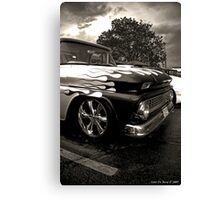 Pickups and Thunderstorms Canvas Print