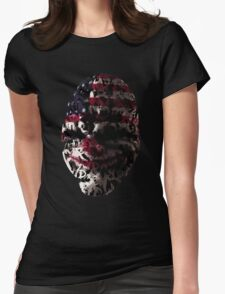 Gaming PayDay The Heist Womens Fitted T-Shirt