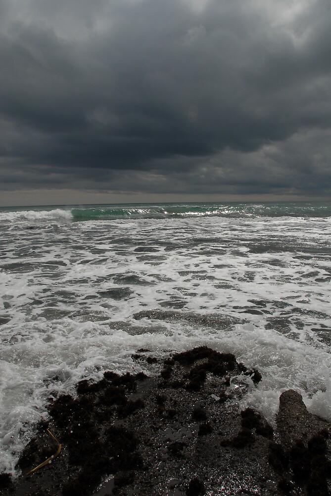 Seascape - changeable weather by Danielle Kennedy Boyd