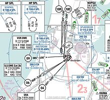 Airspace overview Amsterdam by MartijnKort