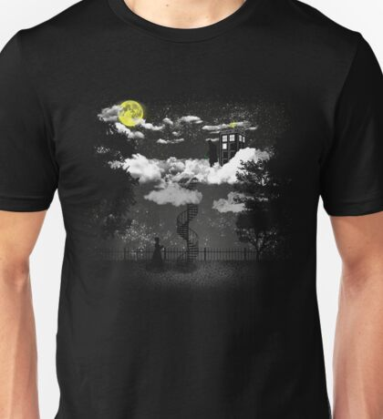 There is a doctor between clouds Unisex T-Shirt