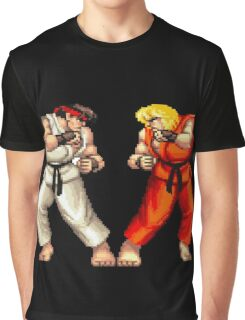 Street Fighter 2 Graphic T-Shirt