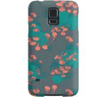Medusa / Crazy Jellyfish Blue Atoll Samsung Galaxy Case/Skin
