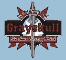 Grayskull Energy Drink (recolor) Kids Clothes