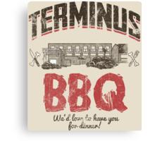 Terminus BBQ Canvas Print