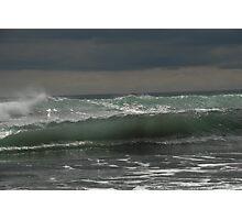 Sea sculpture Photographic Print
