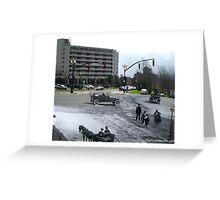 Cavendish Square St. John's, NL - 1930 - 2014 Greeting Card