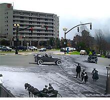 Cavendish Square St. John's, NL - 1930 - 2014 Photographic Print