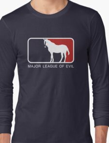 Major League of Evil Long Sleeve T-Shirt