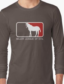 Major League of Evil Long Sleeve T-Shirt