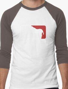Major League of Evil Men's Baseball ¾ T-Shirt