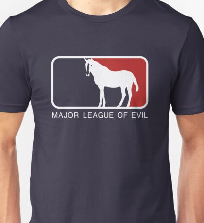 Major League of Evil Unisex T-Shirt
