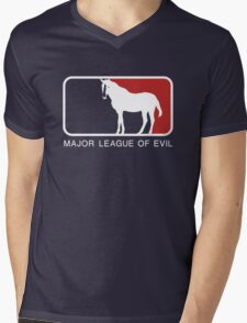 Major League of Evil Mens V-Neck T-Shirt