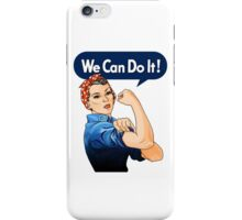 Rosie the riveter iPhone Case/Skin