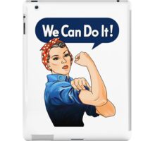 Rosie the riveter iPad Case/Skin