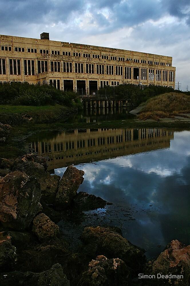 Power Station Reflection by Simon Deadman