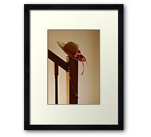 Fancy Hat Framed Print