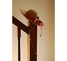 Fancy Hat Photographic Print
